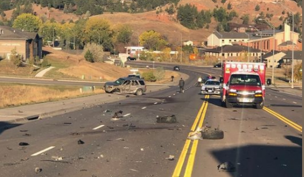 Serious crash in the area of Catron Blvd. and Nugget Gulch Road.