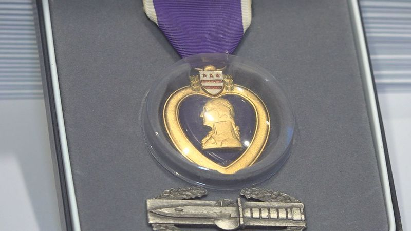 Friday is National Purple Heart Day