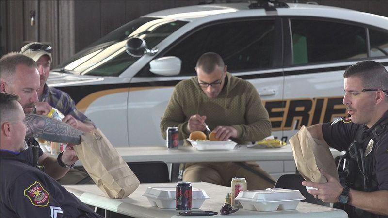 Organizations feed Sheriff's Office.