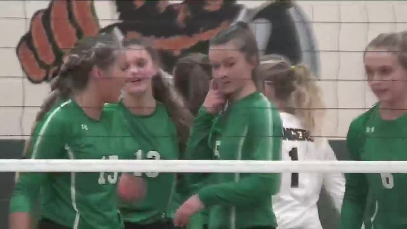 The Rapid City Christian Comets beat the Hill City Rangers in five sets on Friday in the...