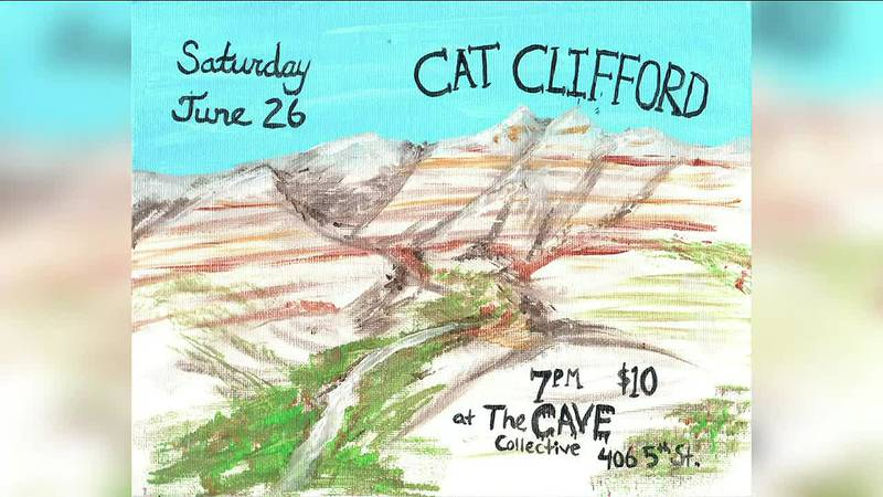 Award-winning artist, actor, and songwriter Cat Clifford join us at The Cave Collective on June...