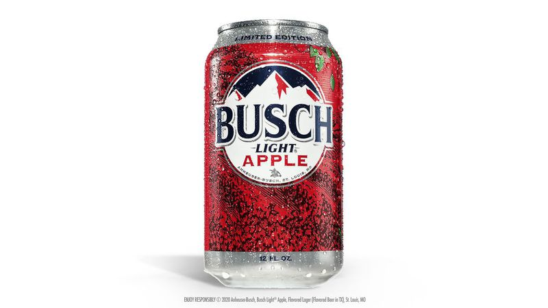 This is the first-ever flavored beer Busch has released in its 65-year history.