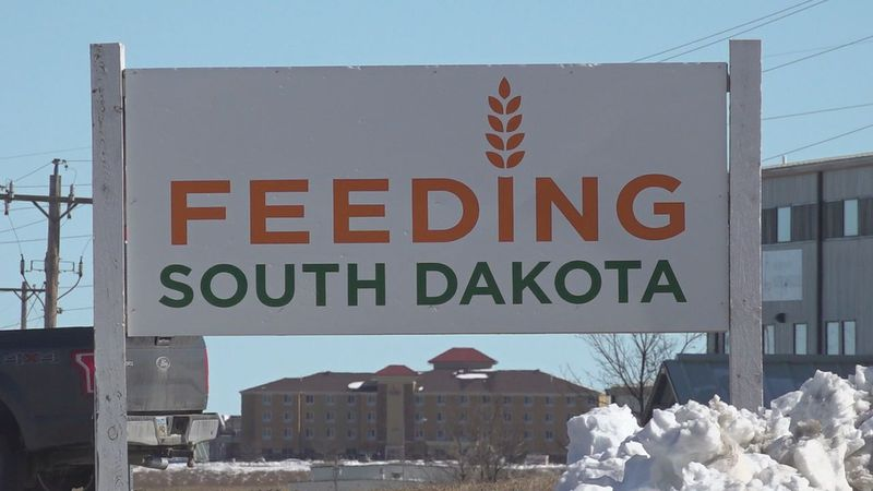 A sign from outside the location in Rapid City.