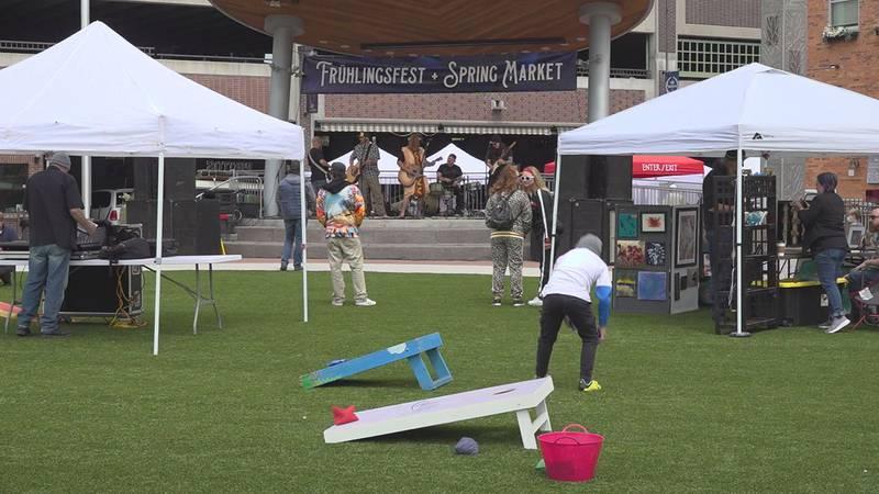 Fruhlingsfest returns to Main Street Square