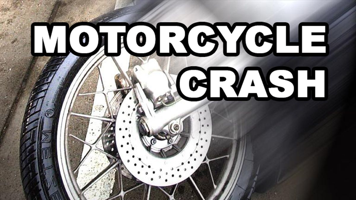A motorcyclist was killed Wednesday when he crossed over into oncoming traffic on Iron Mountain Road.