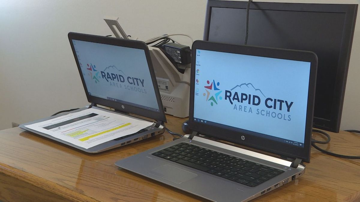 Rapid City Stevens High School students will begin distance learning on Oct. 29 during a...