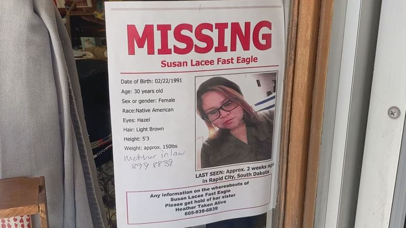 The youngest of five, Susan Fast Eagle's disappearance has left her older sister in desperate...