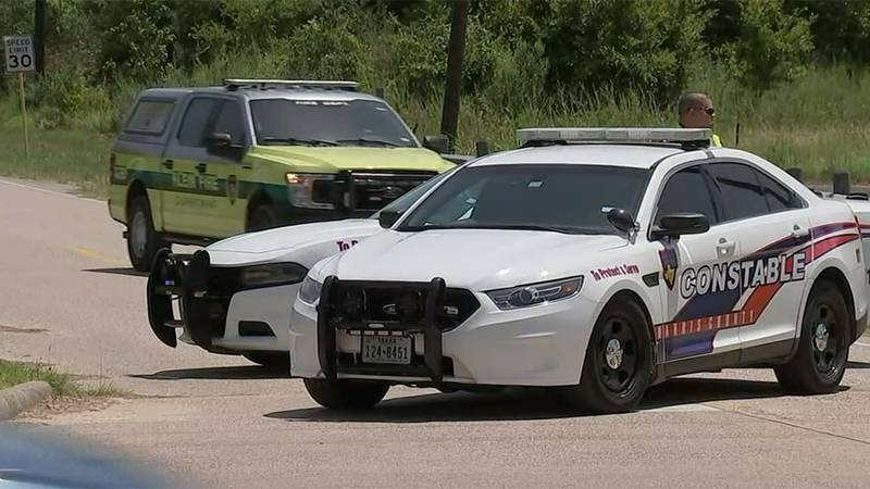 A man and a woman were killed at a soccer field in Harris County, Texas, on Sunday.