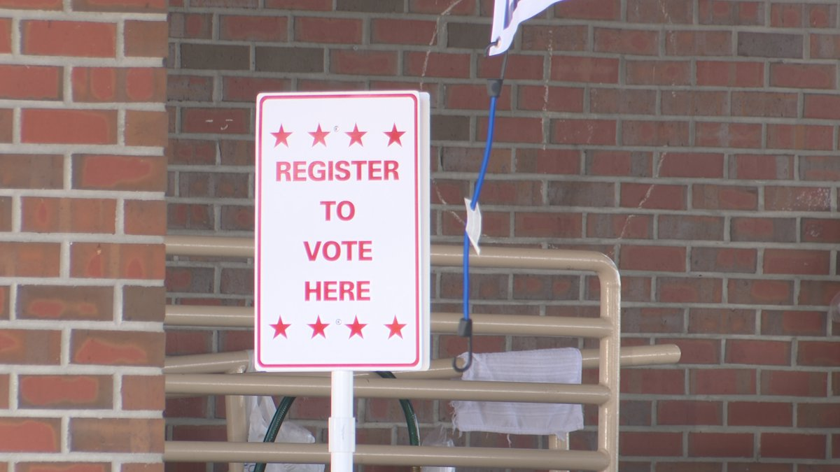Supervisor of Elections Carol Dunaway encourages everyone to register to vote so they can use...