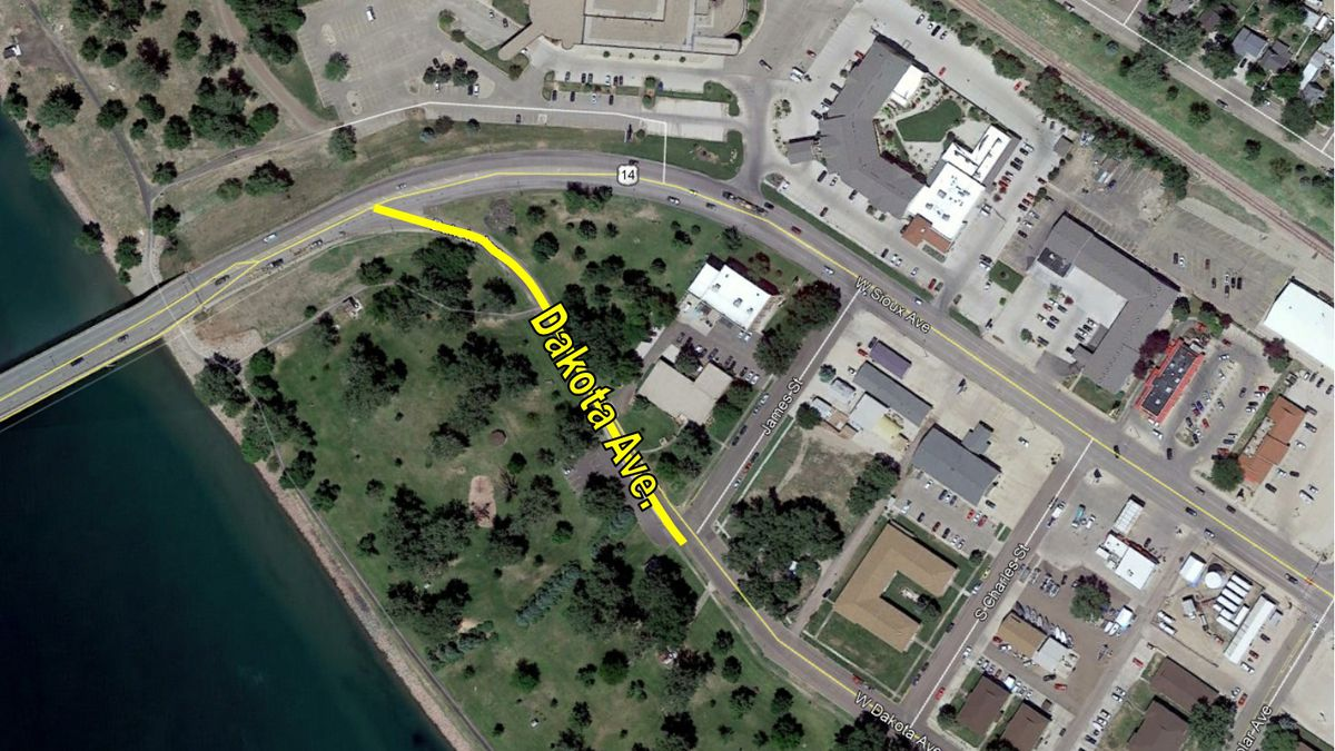 A section of Dakota Avenue in Pierre, South Dakota is closing permanently due to a couple major construction projects taking place in the proximity.