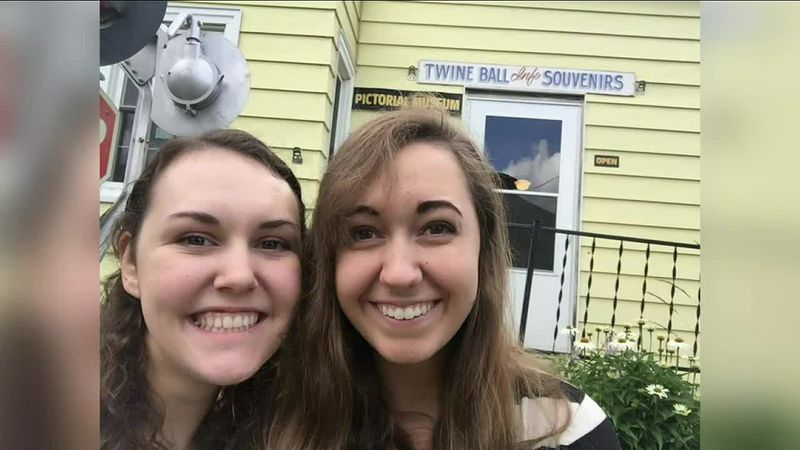 Bri and her friend Rebekah visited the Largest Ball of Twine made by one man in Darwin,...