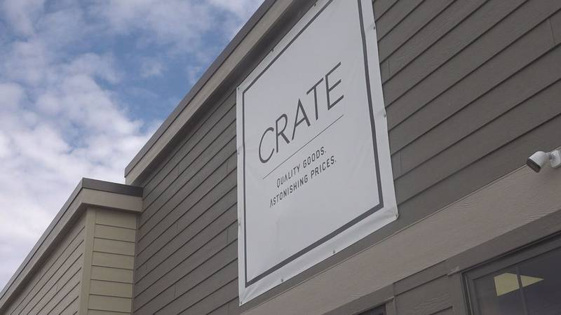 From food to toys and books to electronics and home decor, Crate is what's called a bin store,...