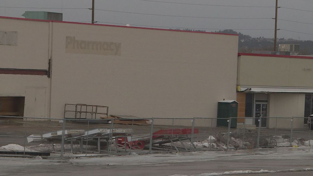 Three new businesses replacing the old K-Mart.