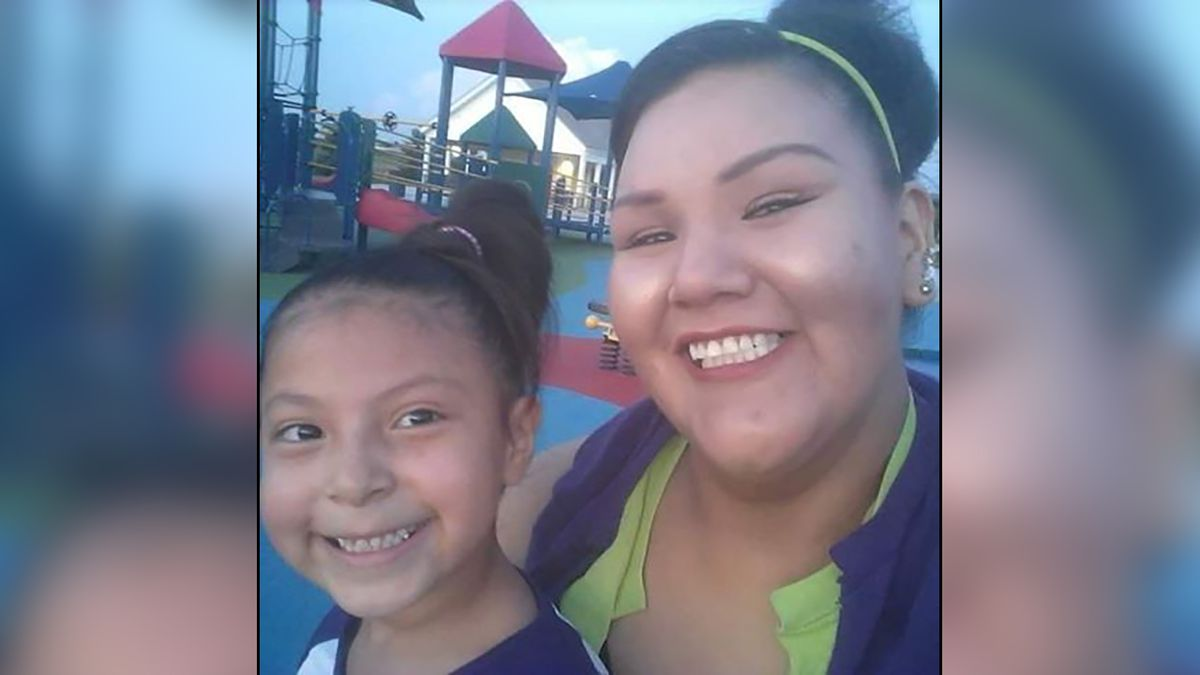 Arita Chasing Hawk is in custody on the Pine Ridge Reservation. She reportedly took her daughter Nov. 1, even though she doesn't have custody. (courtesy photo)