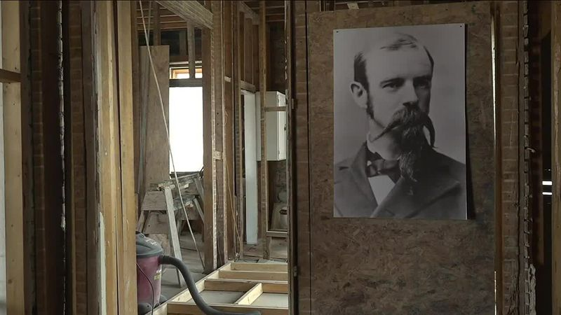 The historic house is going through some changes.