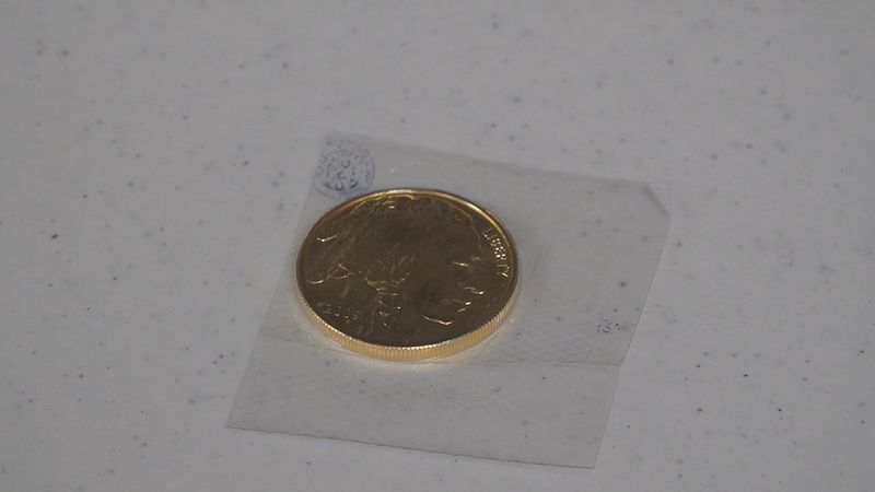 Salvation Army Gold Coin