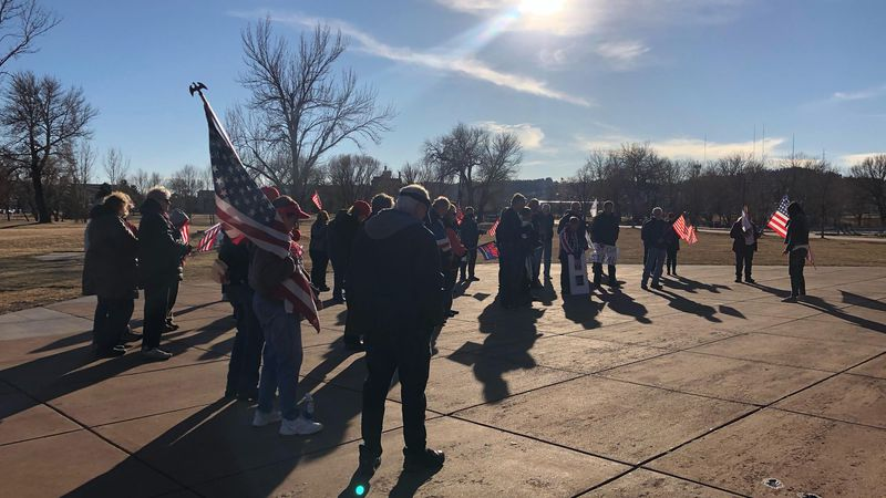In Rapid City, Trump supporters are praying that the Electoral College overturns the vote so...