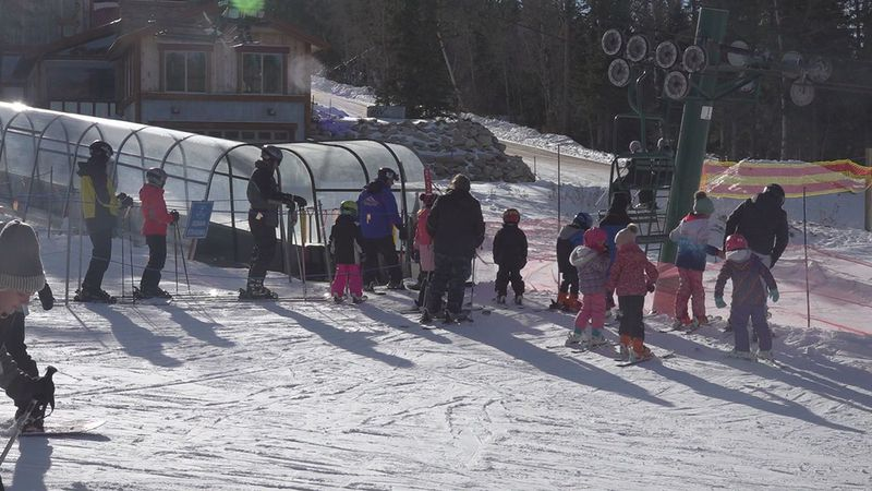 They have seen a lot of people at the ski resort over the Christmas holiday weekend.