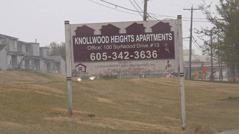 Another homicide is being investigated at the Knollwood apartment complexes, this time a...