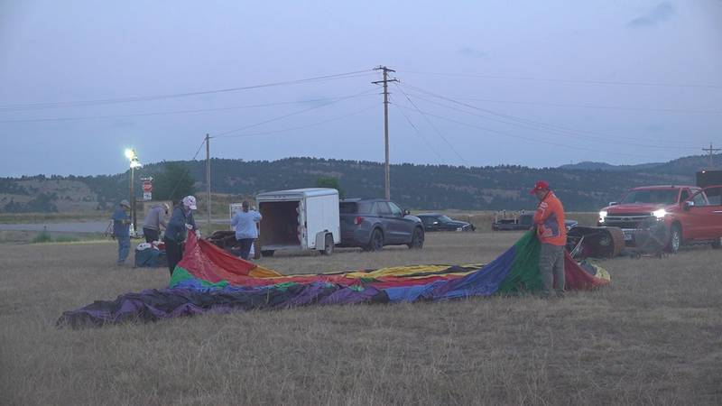 The sixth annual Fall River Hot Air Balloon Festival takes flight this weekend, but pilots were...
