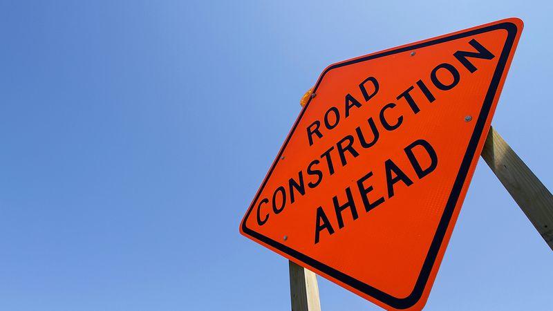 Road construction ahead. (AP Photo/Seth Perlman)