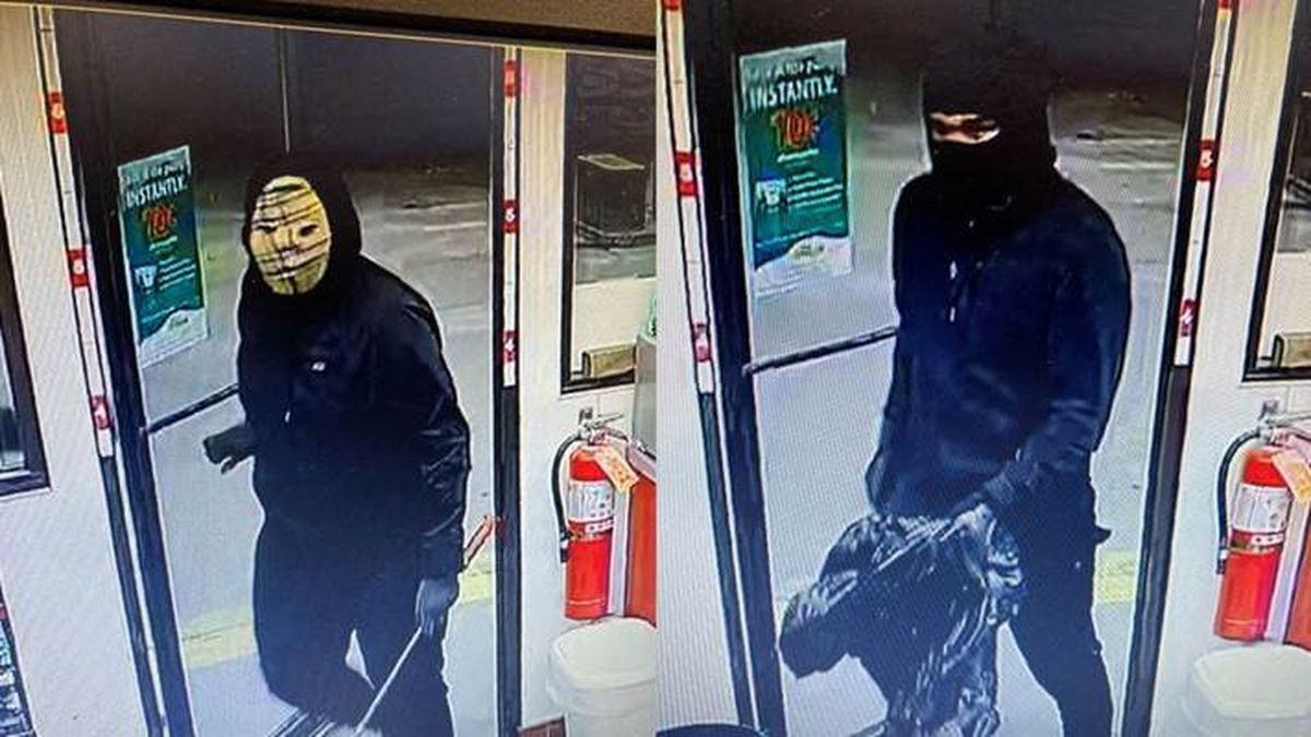 RCPD are looking for two unknown males wearing masks ran into 1515 Mt. Rushmore Road on Nov. 29.