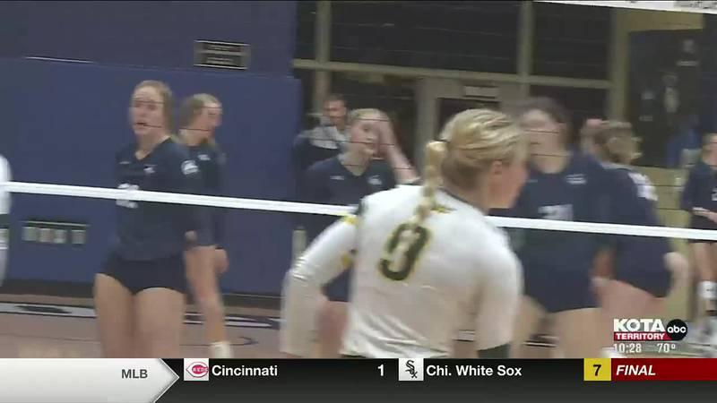 9-28 mines volleyball
