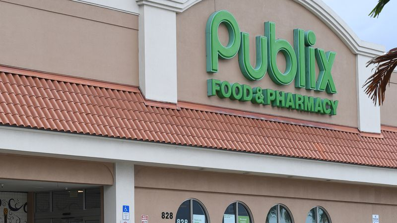 Only Publix stores in Miami-Dade and Broward counties in Florida and in Charleston, South...