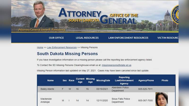 In the last 27 days, 24 children in South Dakota have gone missing according to state officials.