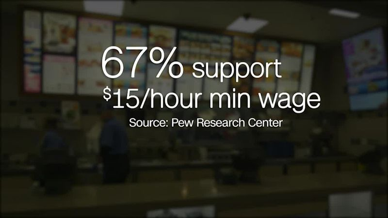 The minimum wage raise, though supported by many, continues to face pushback.