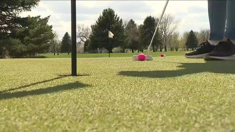 The Douglas girls golf team has been relying on their underclassman.