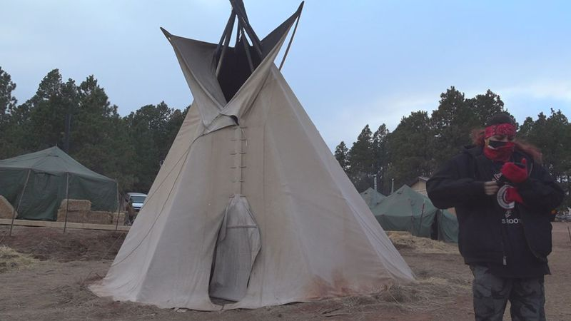 The camp, created in October 2020 to address concerns over the homeless population, met with...
