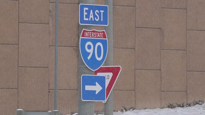 Construction begins Monday on I-90.