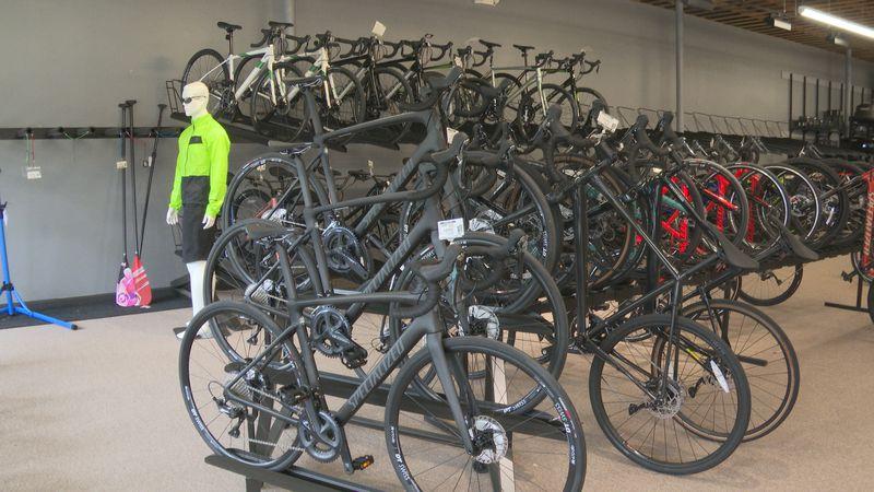 Local Bike Shop Sees Spike in Sales