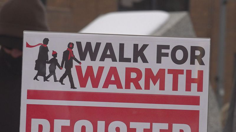 Each year, the Salvation Army sponsors the walk to raise money to assist families struggling to...