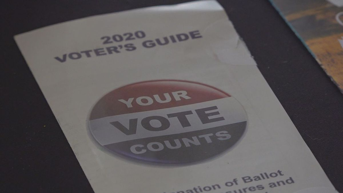 Since August 31, more than 40 people popped by to register and even pick up an absentee ballot.