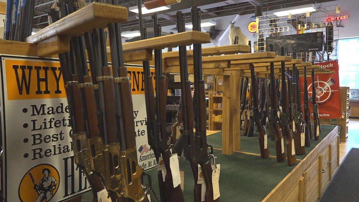 Guns are in high demand.