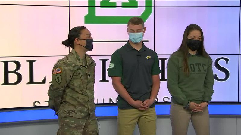 BHSU ROTC students talk about their first WOD annual event