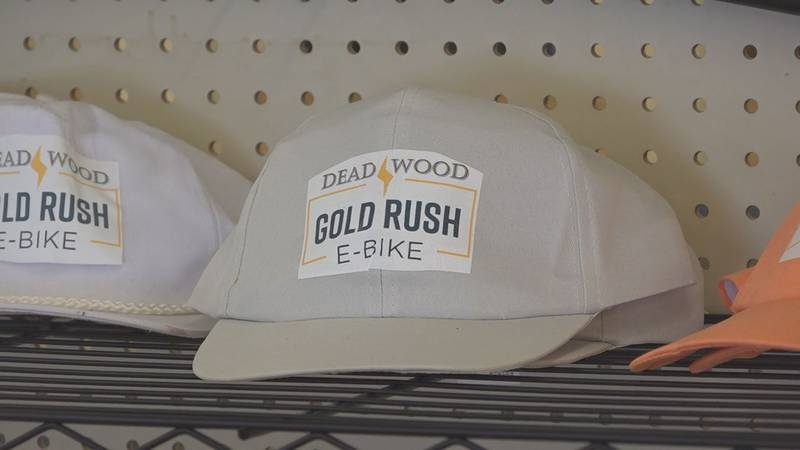 Gold Rush E-Bikes is located in Deadwood, right next to mile 109 of the Mickelson Trail.