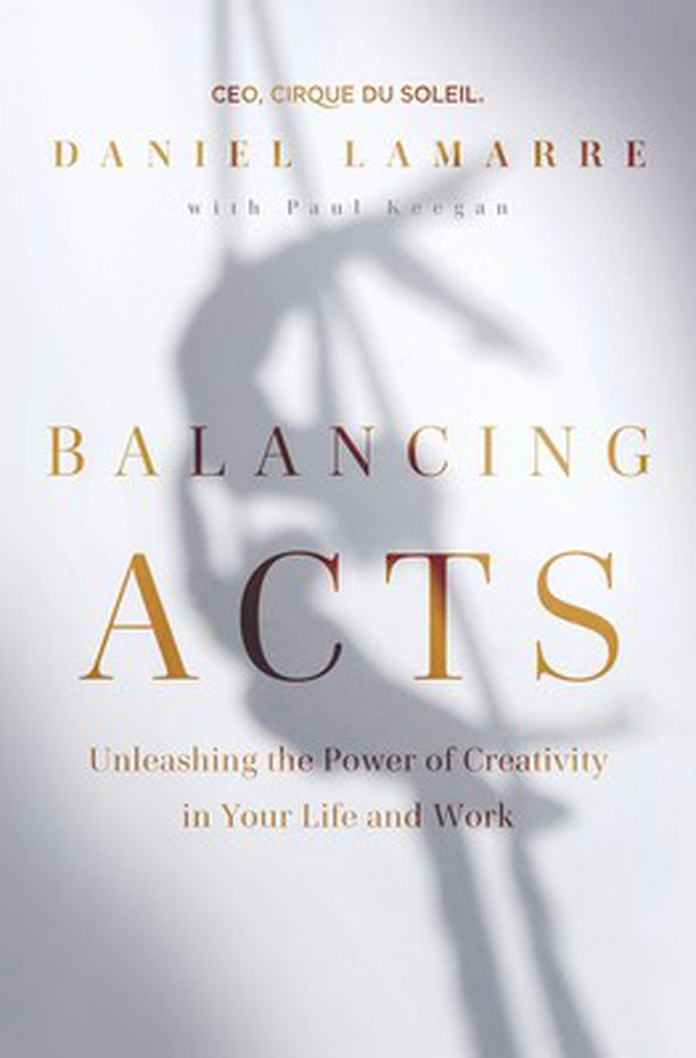 Balancing Acts: Unleashing the Power of Creativity in Your Life and Work by Daniel Lamarre.
