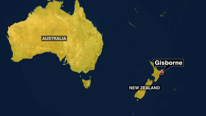 A strong earthquake has hit near New Zealand's North Island.
