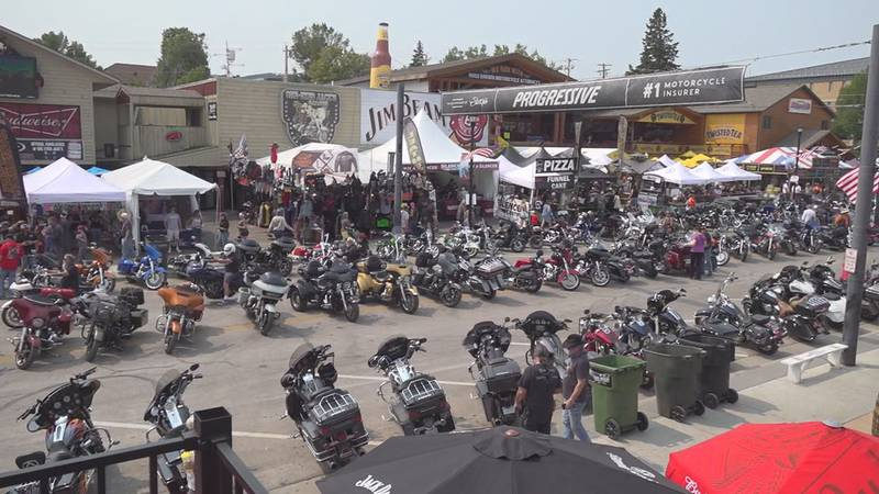More than 525-thousand people visited this year's Sturgis Rally.