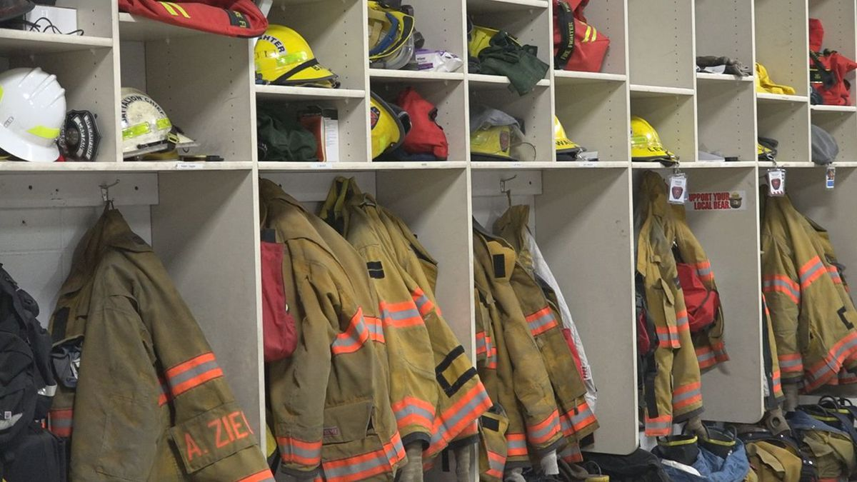 Christopher Gengler, a volunteer firefighter of Spearfish fire department for 30-plus years,...