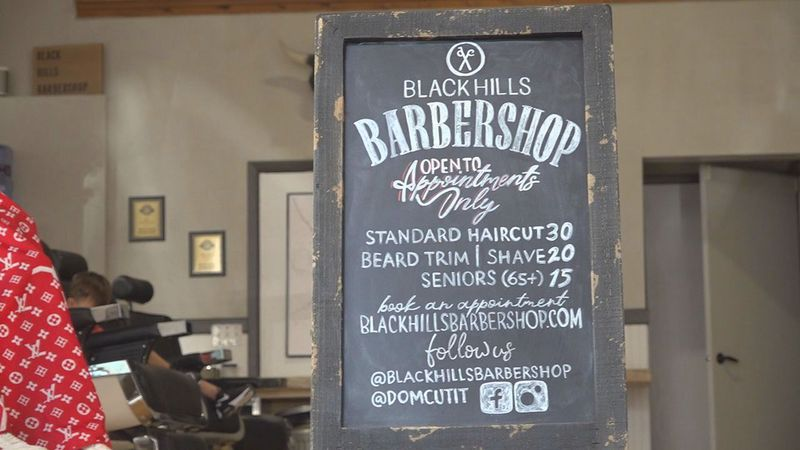 Black Hills Barbershop is about two years old but it didn't have to wait till 21 to get...