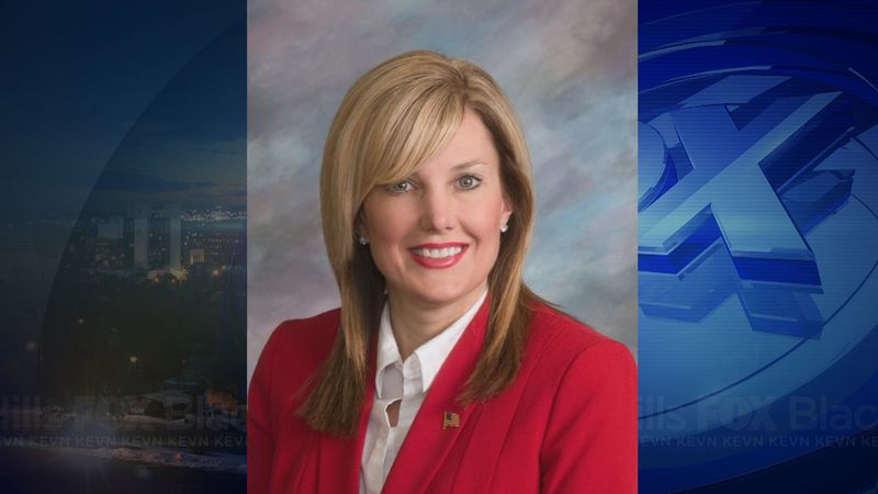 Former S.D. State Sen. Lynne DiSanto (R) alleged her husband, Mark, choked and made death...
