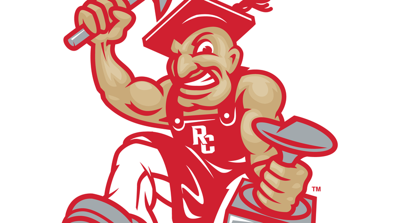 """The upgraded """"Cobbler Guy"""" mascot for Rapid City Central High School."""