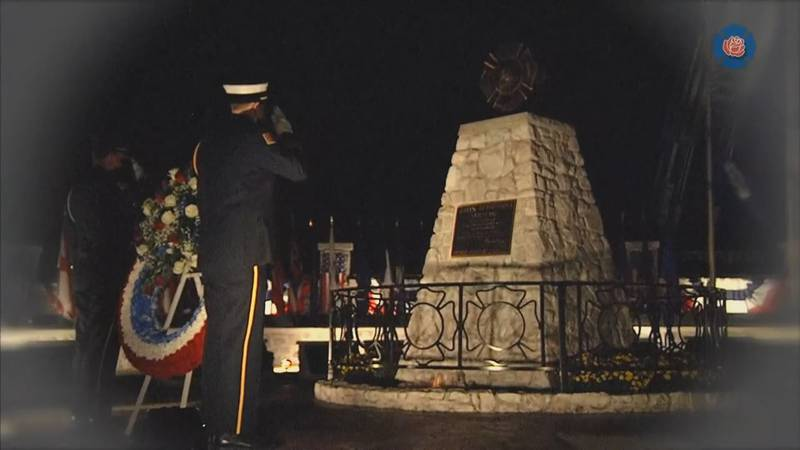The National Fallen Firefighters Foundation held a memorial today (Sunday) honoring those who...