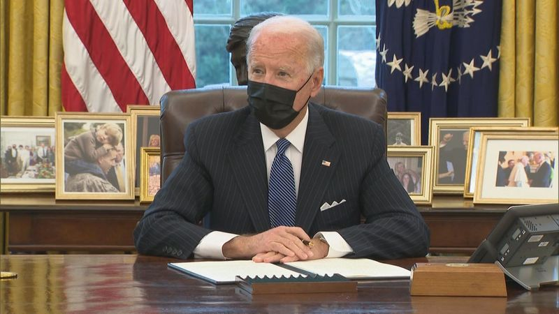 Seven days and 19 executive orders. President Joe Biden has kept his promise to make changes...