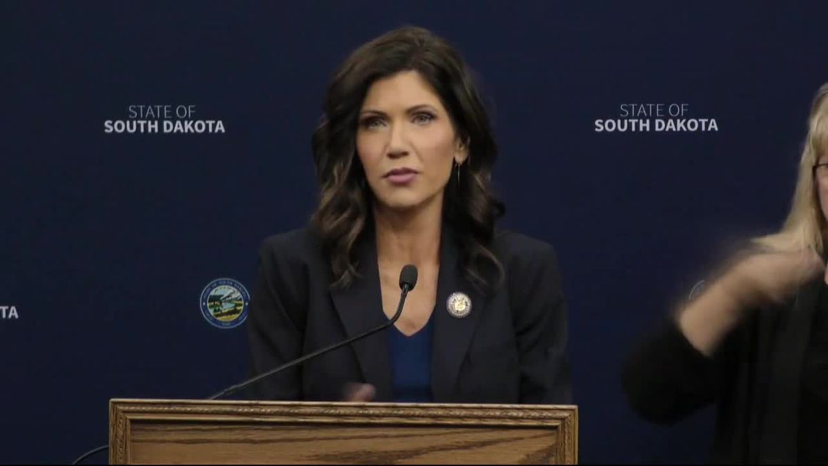 Noem is not interested in running for president.