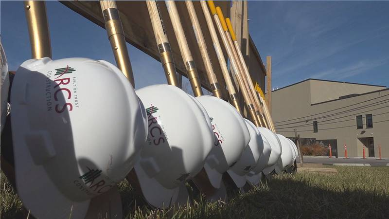 Crisis Stabilization Unit breaks ground and is expected to be completed fall of 2022.